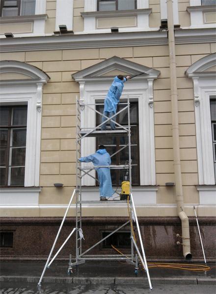 Чистюля мойка фасада